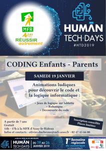 Coding enfants-parents @ MFR Azay-le-Rideau