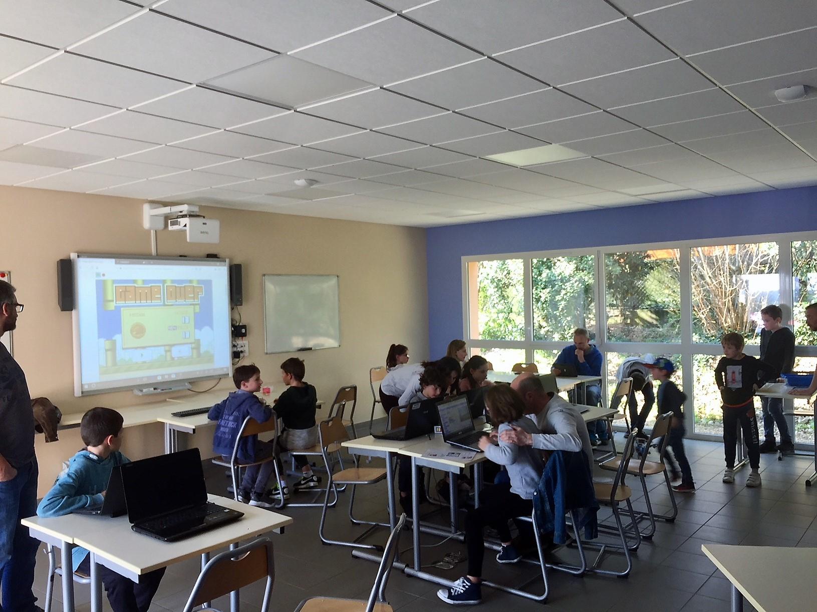 Les animations numériques coding, pour apprendre le code, la programmation, la logique informatique
