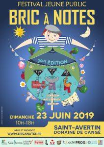 Affiche du festival Bric à notes