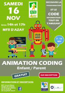 Animation Coding Enfants-Parents