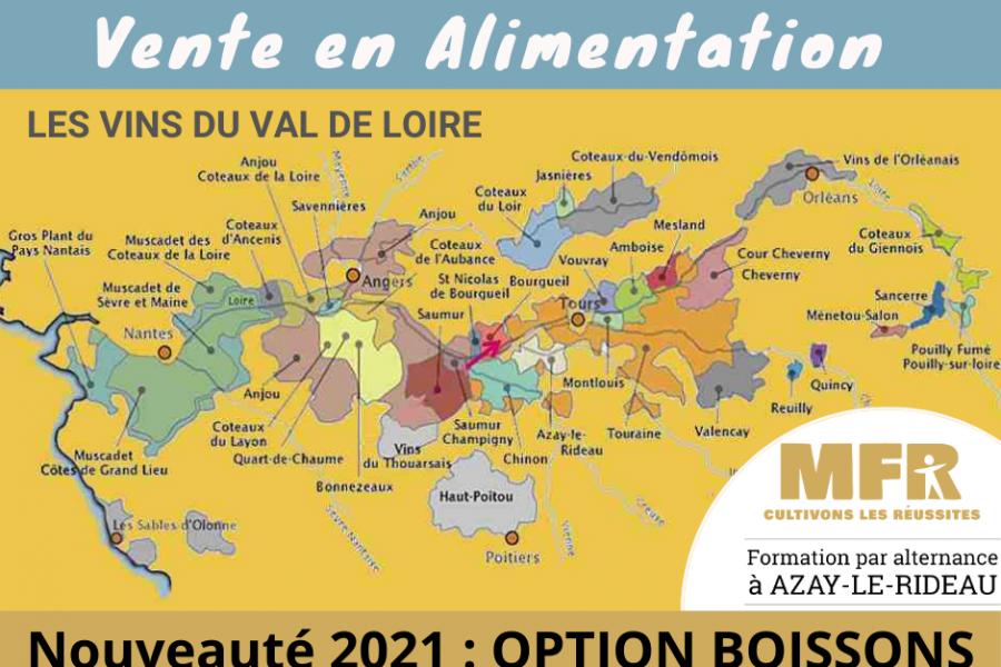 RENTRÉE 2021: NOUVEAU BAC PRO TCVA Produits Alimentaires et Boissons