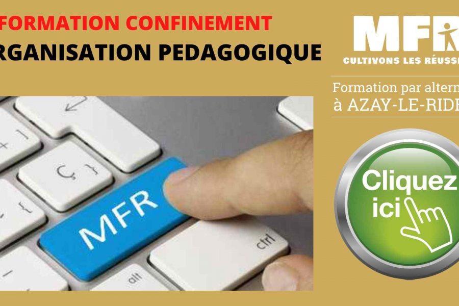 Organisation Pédagogique AVRIL 2021