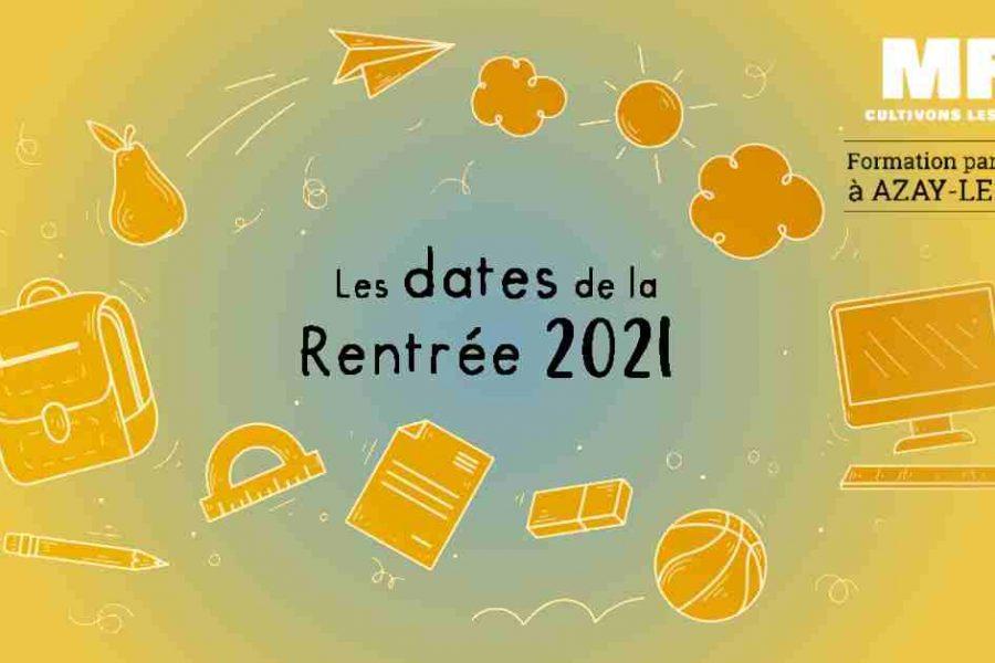Rentrée septembre 2021
